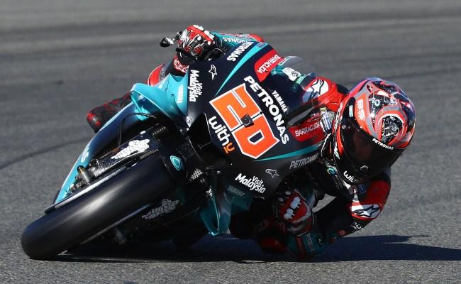 Fabio Quartararo Tops Day One Of Crash Strewn Valencia Visordown