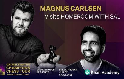 magnus carlsen homeroom with sal teaser