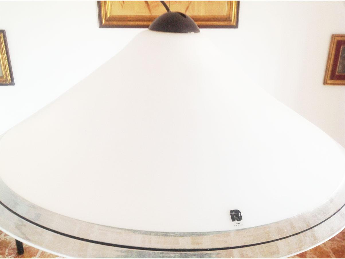 Oggetto arte vetraria murano condizioni perfette ø cm.40; Lampadario Vetro Di Murano Anni 70 Itre Deesup
