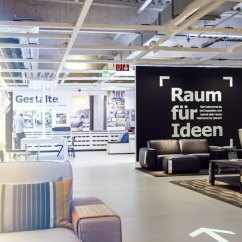 Ikea Showroom Living Room Decorating With Dark Grey Sofa Virtual Reality Raum Vr 1