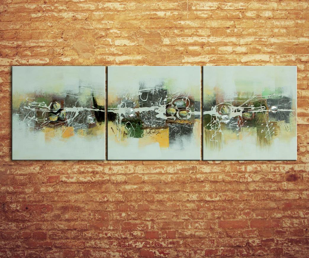 Set 3 quadri astratti  Duzzle