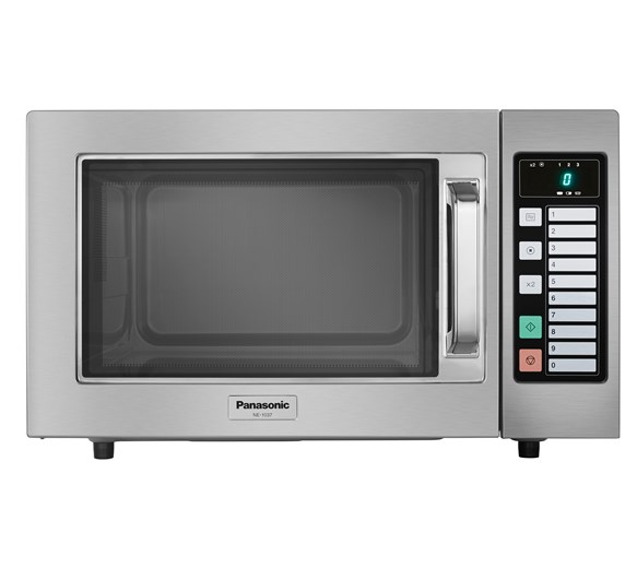 panasonic ne1037 1000w commercial microwave oven with 4 year warranty