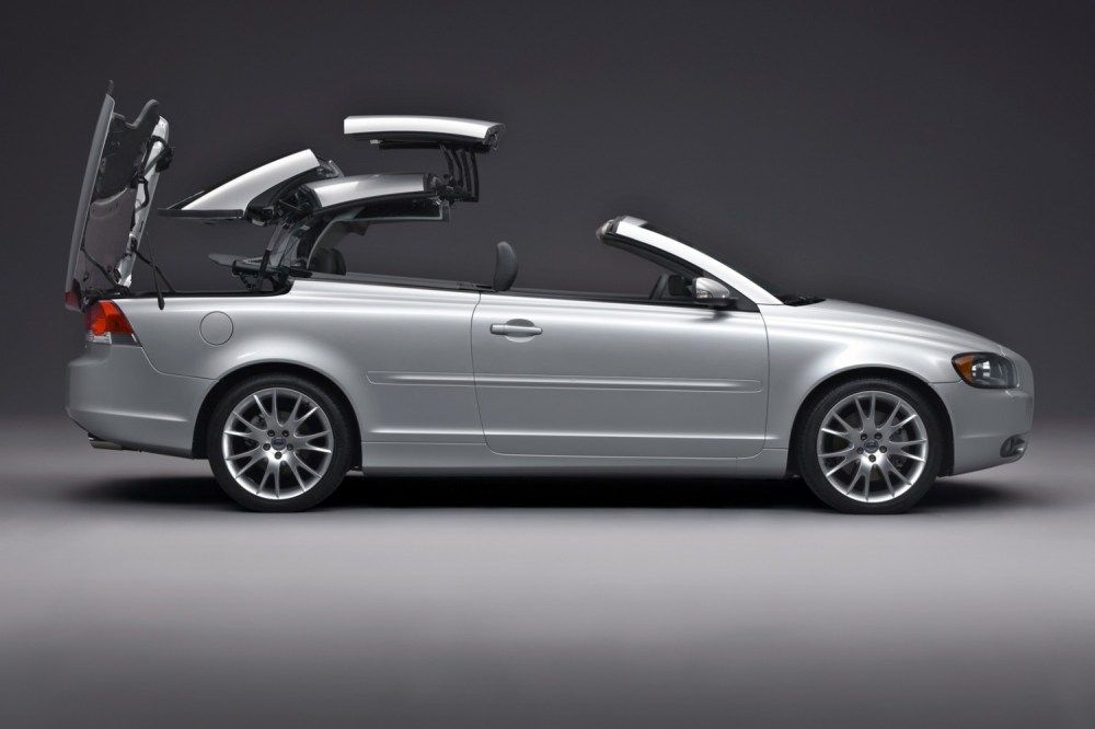 medium resolution of volvo c70 roof retraction 2