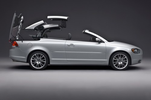 small resolution of volvo c70 roof retraction 2