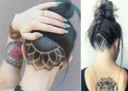 hidden hair tattoos latest