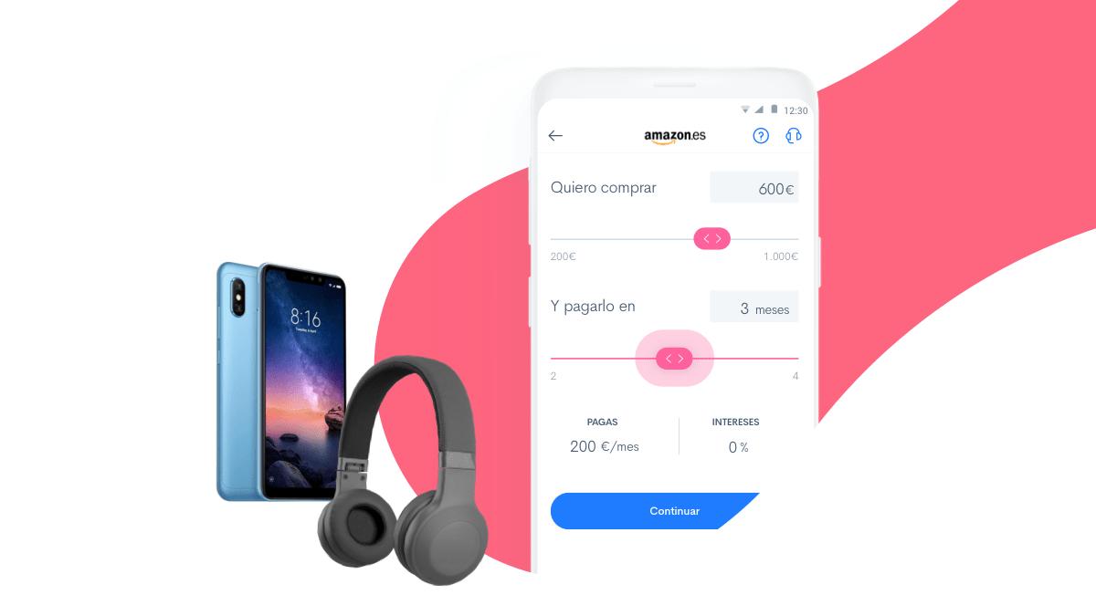 Financia tus compras al 0% en Amazon.es*