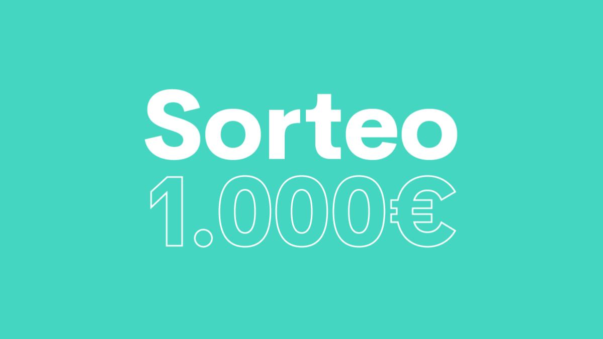 Sorteo – 1.000€ para disfrutar del Black Friday