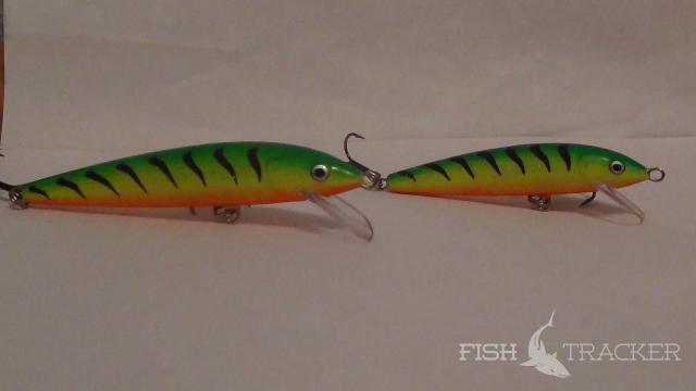 fishing lures TsuYoki Blef 80F range of colours