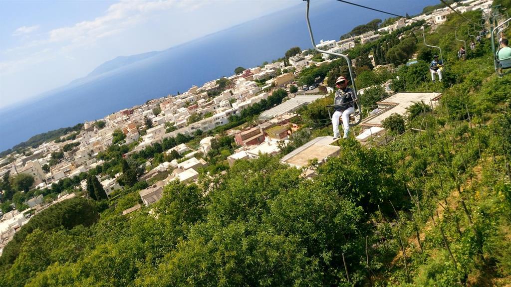 In Giro Con Fluppa  Capri senza lusso cosa visitare in