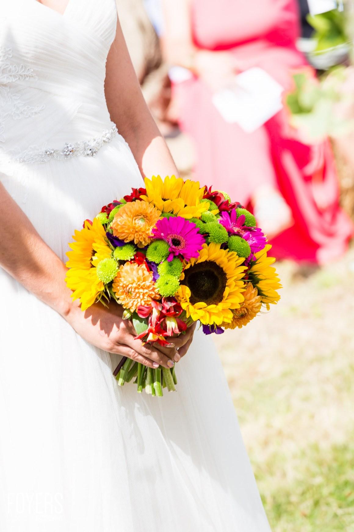 wedding bouquet-1 - copyright Robert Foyers