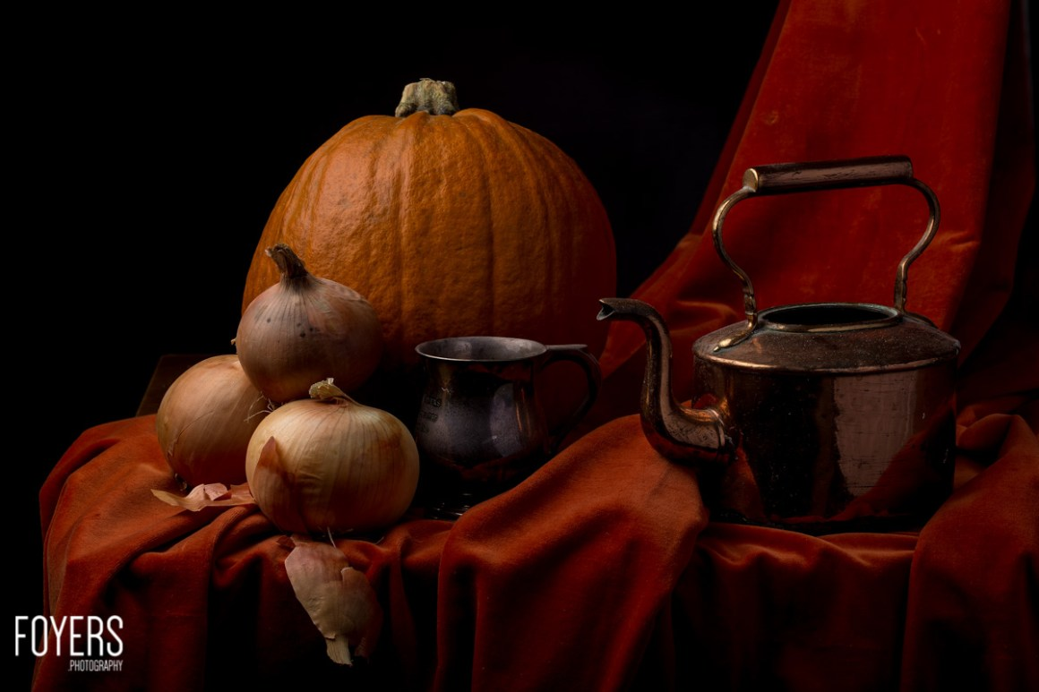 halloween pumpkin still life-1--Copyright Robert Foyers