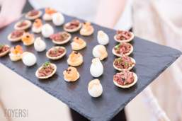 Catering was managed byChris Coubrough's team from the Crown Hotel