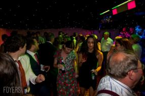 guest dancing to The brilliant Lee Vasey Band played throughout the night