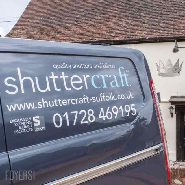 Shuttercraft commercial photoshoot at the Ufford Crown, Suffolk