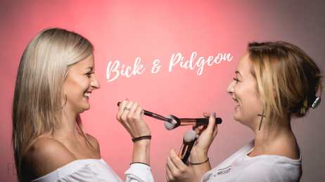Steffi Bickers and Emily pidgeon aka Bick and Pidgeon