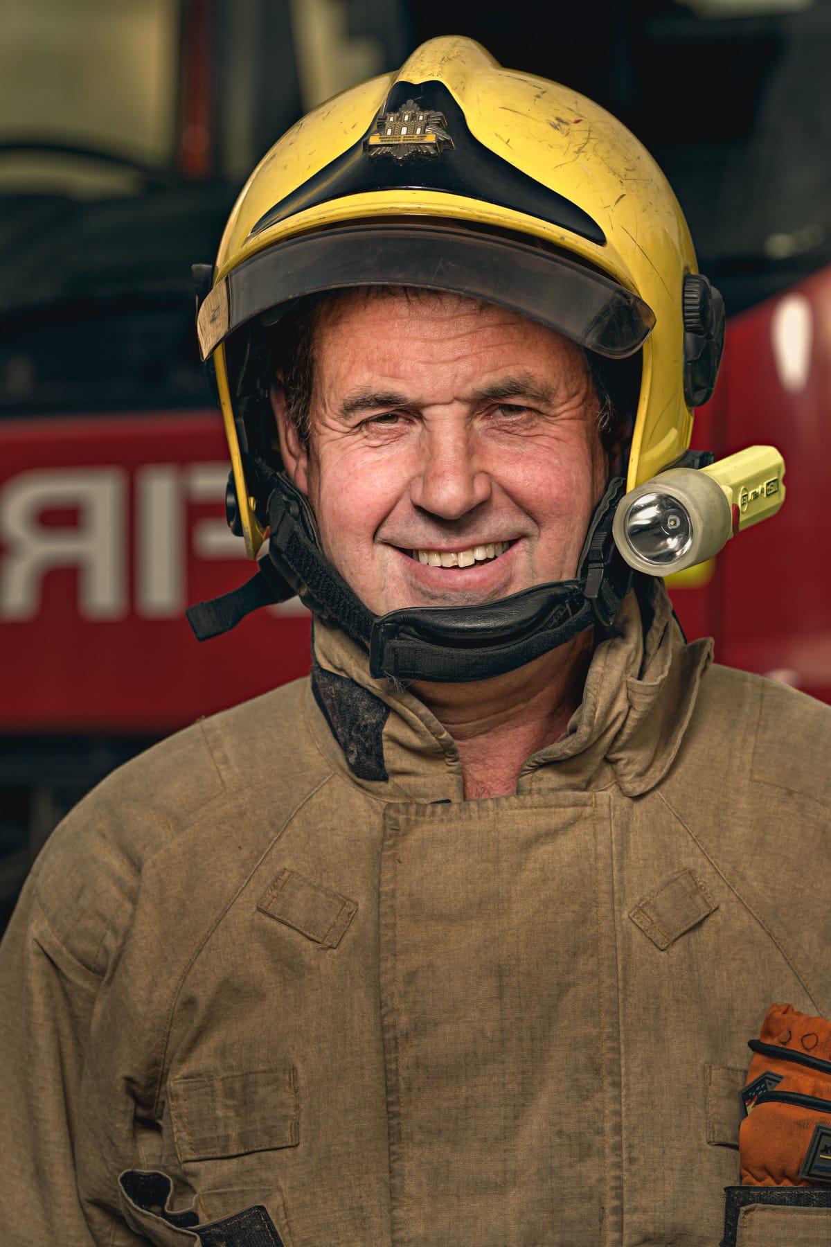 Firefighter Trevor Churchyard, Commercial vehicle mechanic