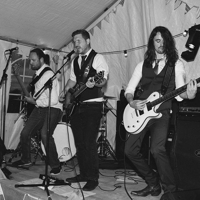 Brillant band atBryony and Niall wedding. @independentatlas