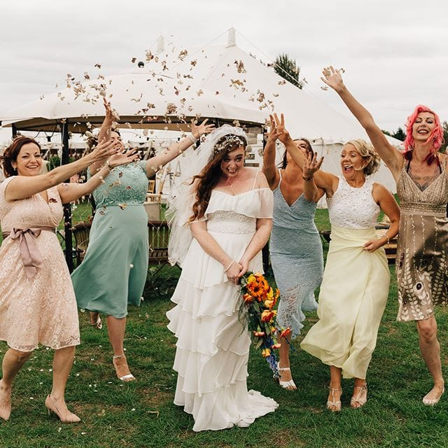 Bryony bridesmaids where fantastic! Amazing to see such true friendship! @independentatlas
