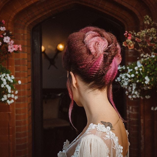 Amazing wedding hair was done by Mel and team from Innov8, Saxmundham for bridle dress photoshoot at Woodhall Manor with @martin_dobson_couture @innov8hair @woodhallmanor @faybulous7 4 . . . . .