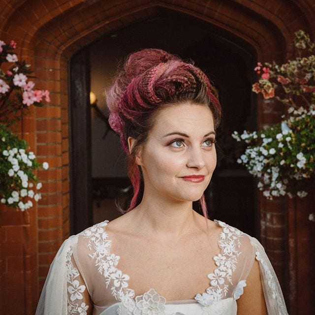 Amazing wedding hair was done by Mel and team from Innov8, Saxmundham for bridle dress photoshoot at Woodhall Manor with @martin_dobson_couture @innov8hair @woodhallmanor @faybulous7 8 . . . . .