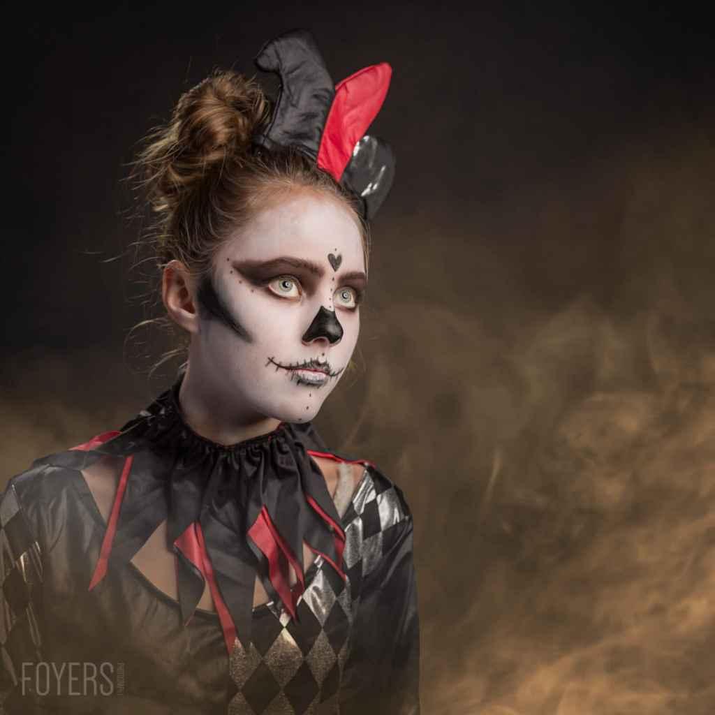 Halloween photoshoot with Bella