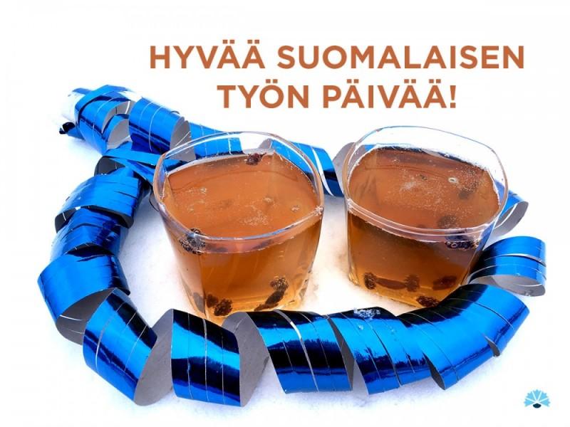 Hyvää suomalaisen työn päivää!