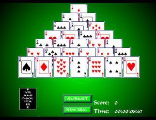 Piramide Solitario  Giochi di Carte