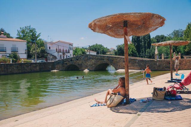 Las piscinas naturales de San Nicolás del Puerto. Foto: Javier Sierra