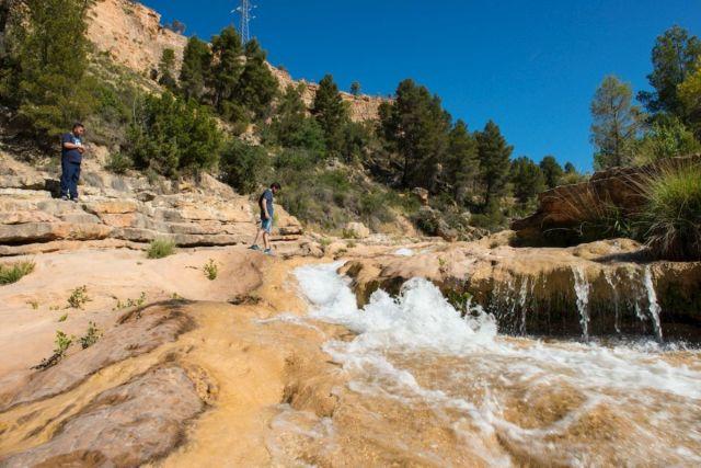 Las Chorreras ofrecen un bello paisaje de saltos de agua.