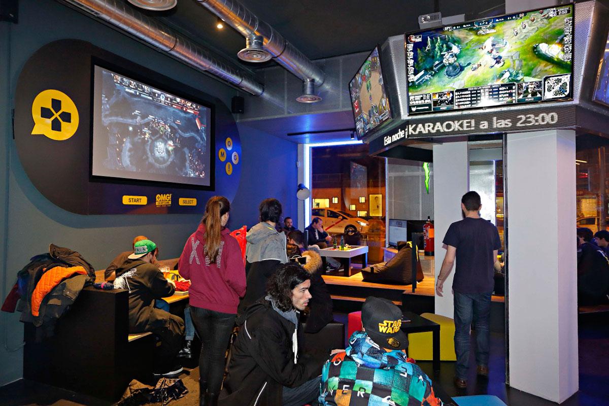 Bar Oh My Game Madrid  Gua Repsol