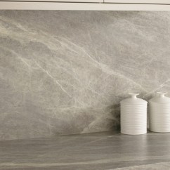 What Is The Best Paint For Kitchen Cabinets Remodeling St Louis Grey Slate Effect Backboard Large Scale Print | ...