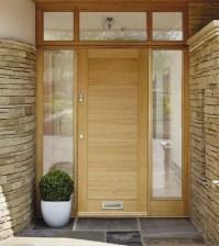 External Linear Oak Door | Howdens Joinery