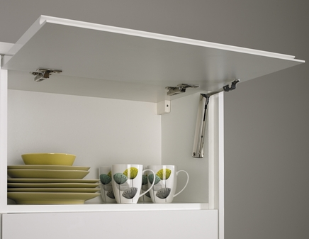 Flapstay hinge  Kitchen fixtures  fittings  Howdens Joinery