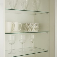 Internal Glass Cabinet Shelves | Kitchen Shelving ...
