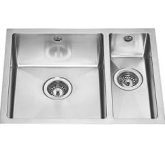 Amazon Kitchen Sinks Undermount Rustic Island Lamona Easton 1.5 Bowl Sink | Stainless Steel ...