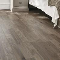 Professional Dark Grey Oak laminate flooring | Howdens Joinery
