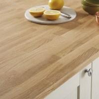 Oak Block solid wood worktop 27mm | Kitchen worktops ...