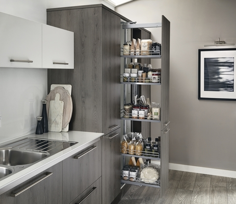 Greenwich Dark Grey Oak Kitchen  Universal Kitchen