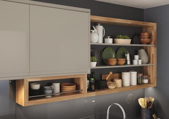 Clerkenwell Gloss Grey Kitchen Contemporary Kitchens