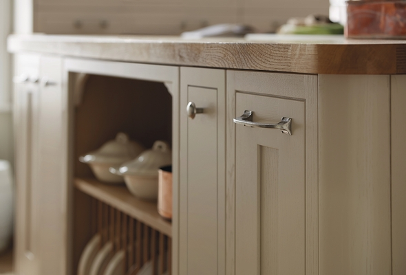 kitchen island made out of dresser single handle faucet with sprayer tewkesbury framed cashmere | shaker kitchens ...
