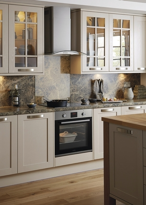 Tewkesbury Cashmere Kitchen  Shaker Kitchens  Howdens