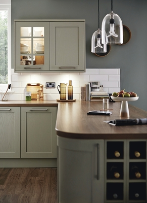 kitchen sink rack outdoor islands for sale tewkesbury skye | shaker kitchens howdens joinery