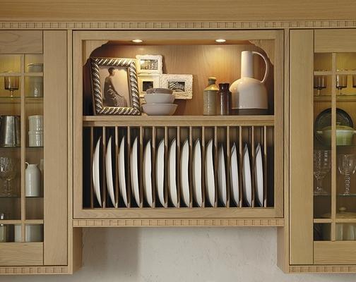 ceramic tiles for kitchen elkay sinks tewkesbury light oak | shaker kitchens howdens ...