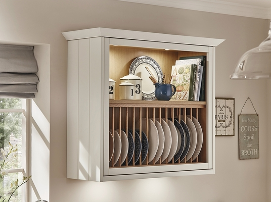 install kitchen island resurfacing cabinets burford tongue & groove ivory | shaker kitchens ...