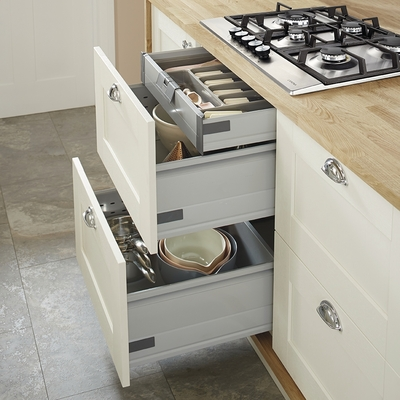 kitchen island made out of dresser blanco faucet replacement parts fairford antique white | shaker kitchens howdens ...