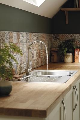 kitchen matt beach cabinets allendale antique white | shaker kitchens ...