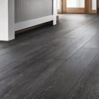 Quickstep Livyn Silk Oak Dark Grey Vinyl Flooring ...