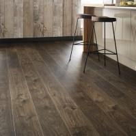 Quickstep Livyn Cottage Oak Dark Brown Vinyl Flooring ...