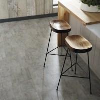 Quickstep Livyn Light Grey Travertine Vinyl Tile Flooring ...
