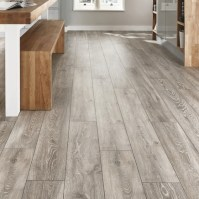 Professional V Groove Light Grey Oak Laminate Flooring ...